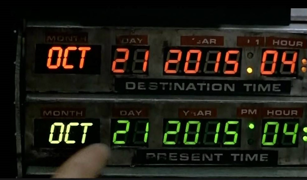Marty mcfly amp doc brown coming back to the future